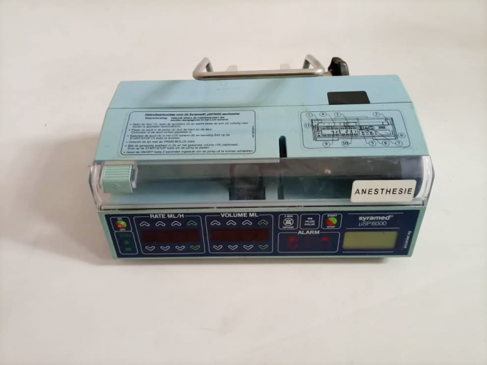 Syramed sp6000 Syringe infusion pump.1