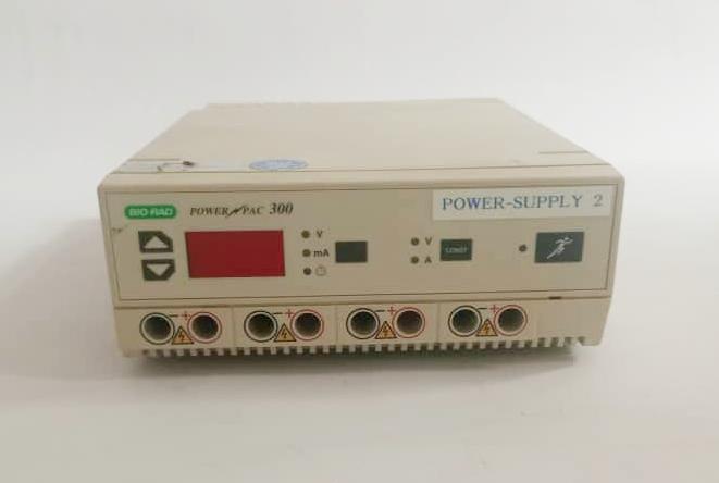 Biorad PowerPac 300 Electrophoresis Power Supply